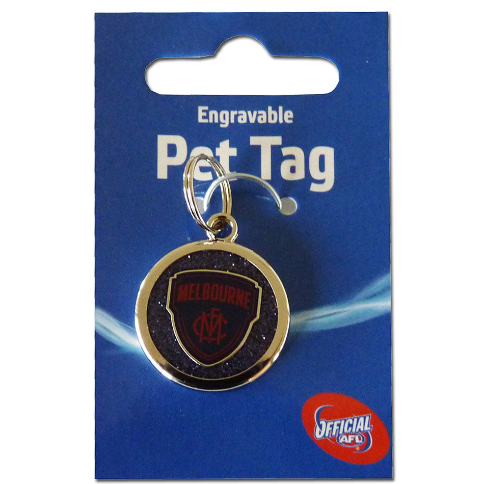 AFL Melbourne Demons Dog / Pet Tag