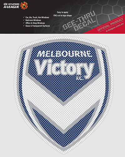 Melbourne Victory iTag See Through Team Logo Car Sticker