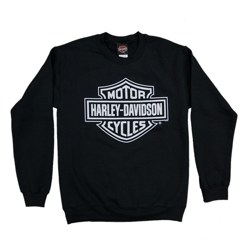 Harley-Davidson Mono Bar & Shield Crew Neck