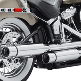 Screamin' Eagle Street Cannon Mufflers - Short