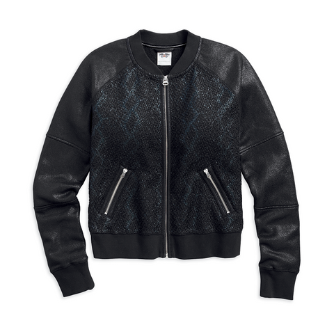 Harley-Davidson Coated Women's Bomber Jacket