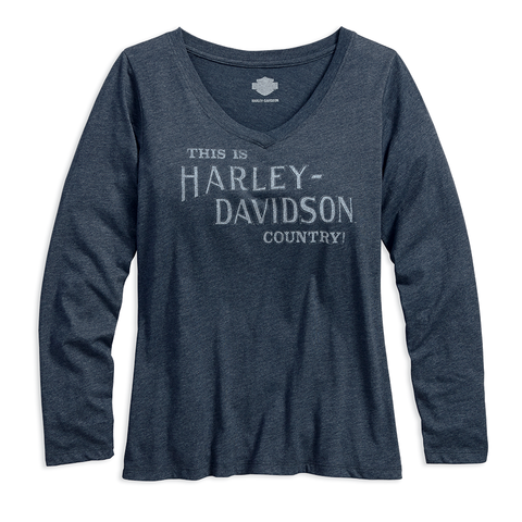 Harley-Davidson Harley Country Women's V-Neck Tee