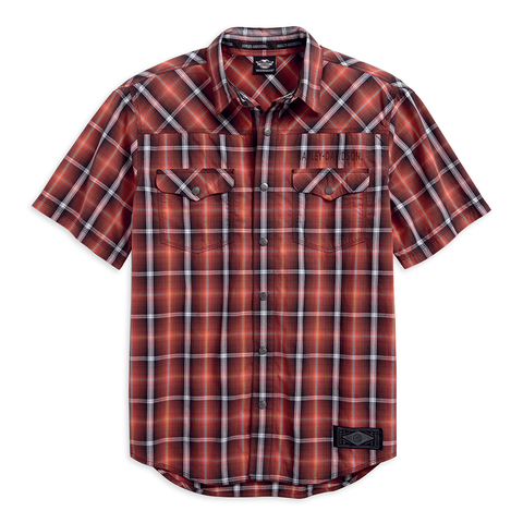 Harley-Davidson Graphic Plaid Men's Shirt