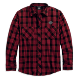 Harley-Davidson Plaid Men's Flannel Shirt