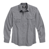 Harley-Davidson Textured Arched Yoke Men's Shirt