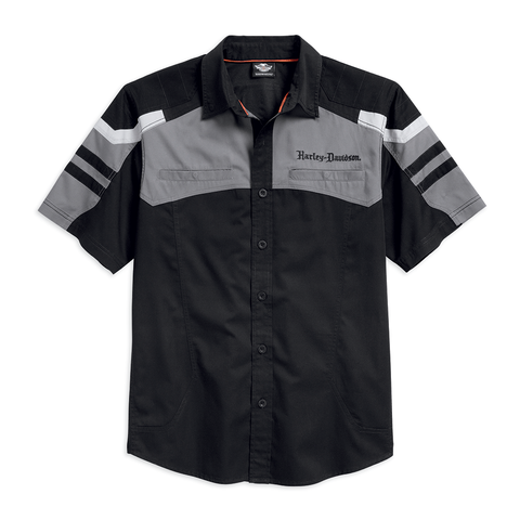 Harley-Davidson Performance Tonal Colourblock Men's Shirt