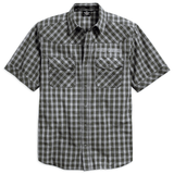 Harley-Davidson Cloud Wash Men's Plaid Shirt