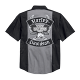 Harley-Davidson Iconic Eagle Colourblock Men's Shirt