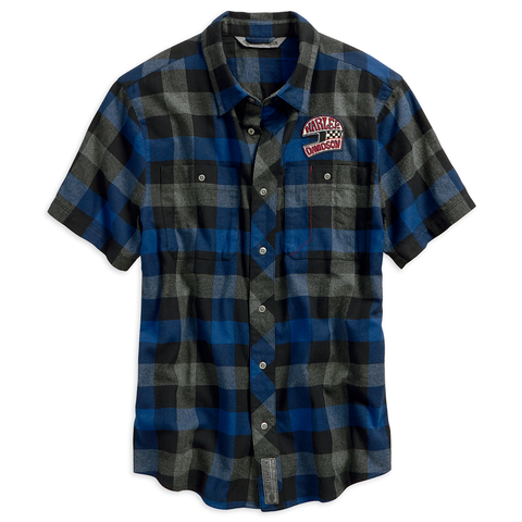 Harley-Davidson 03 Men's Plaid Shirt