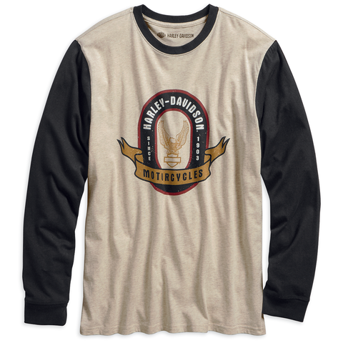 Harley-Davidson Slim Fit Men's Baseball Tee