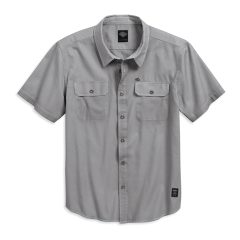 Harley-Davidson Cotton Dobby Men's Shirt