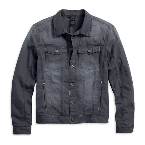 Harley-Davidson Distressed Men's Denim Jacket