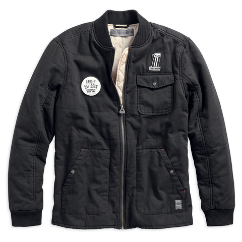 Harley-Davidson Quilted Men's Canvas Jacket