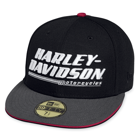 Harley-Davidson 3-D Embroidered Men's 59FIFTY Cap