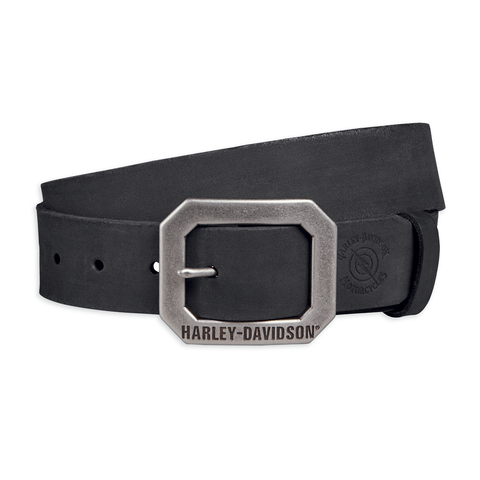 Harley-Davidson Lightning Bolt Men's Leather Belt