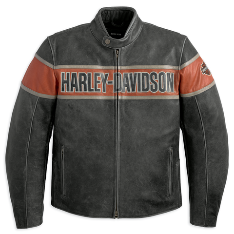 Harley-Davidson Victory Lane Men's Leather Jacket