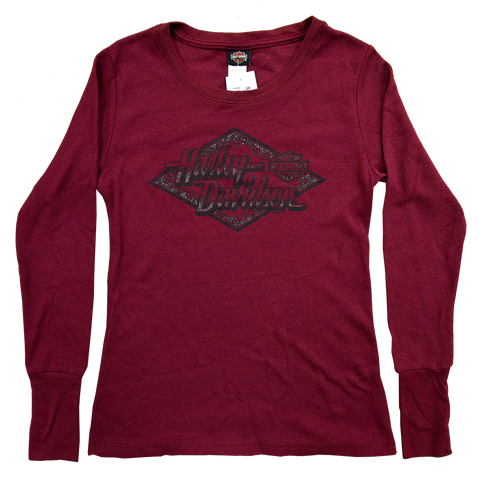 Harley-Davidson Diamond Thermal Long Sleeve Tee