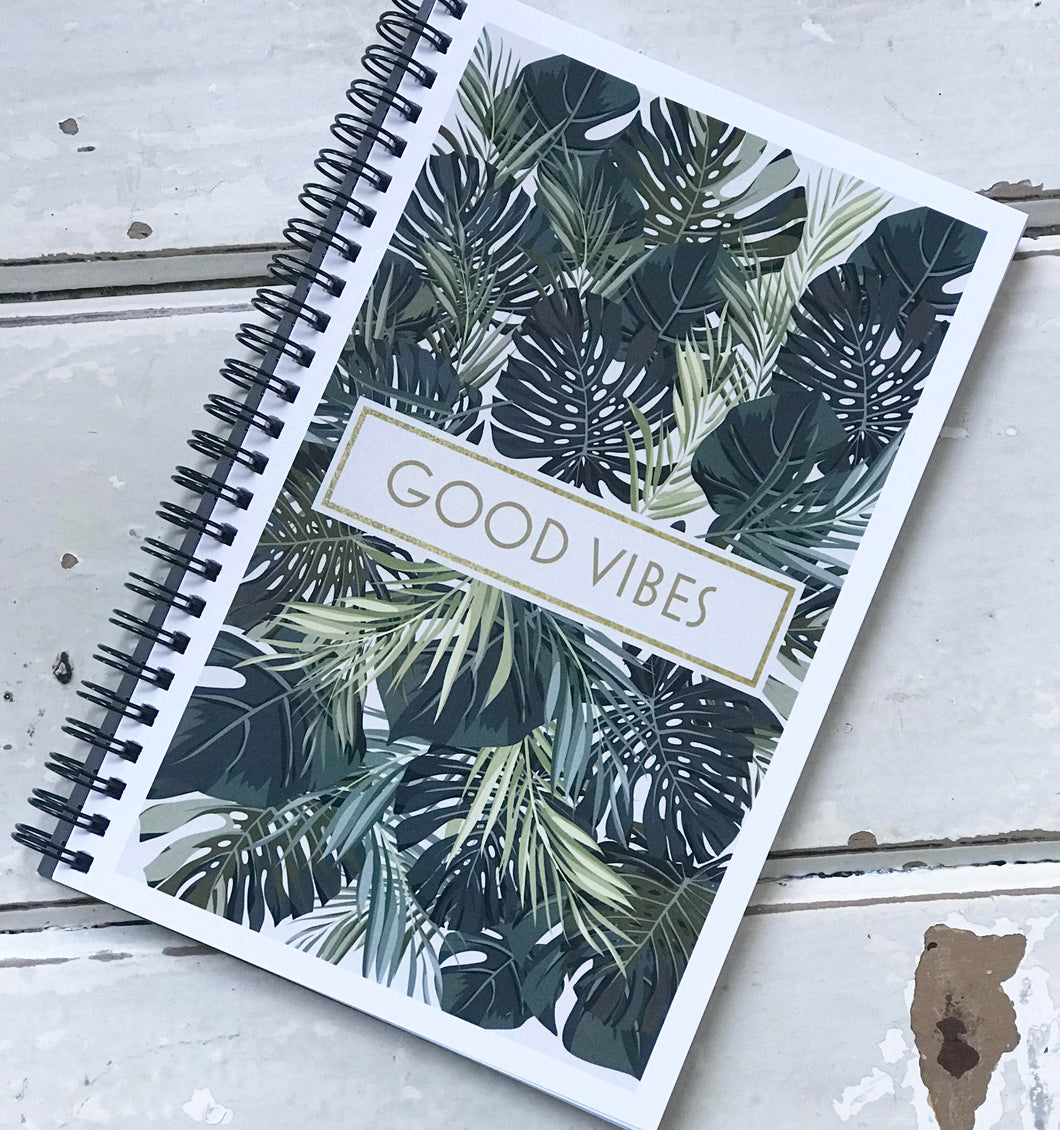 'Good Vibes' Notebook