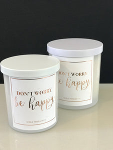 'Be Happy' - The Louisa Candle