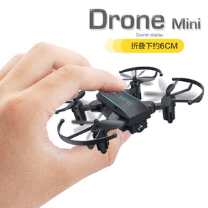 Mini Foldable Selfie Drone with Wifi FPV 0.3MP or 2MP Camera Altitude Hold Quadcopter Smart toys for boy children birthday gift