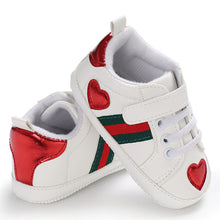 Baby Crib shoe Fashion Trainers Hook-and-loop Infant Girls Shoes for 1 Year Old Soft Sole Toddler Boy Tenis Funny Christian Gift