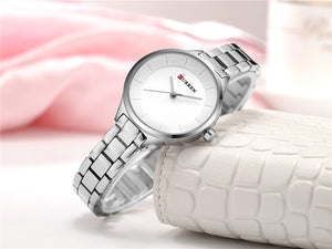 Women's Quartz Water Resistant Shock Resistant Wristwatch