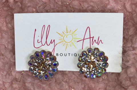 Sparkle Clip-On Earrings