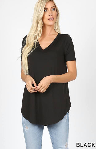 Black Zenana Tshirt