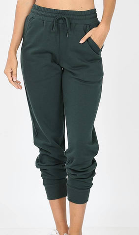 Hunter Green Joggers