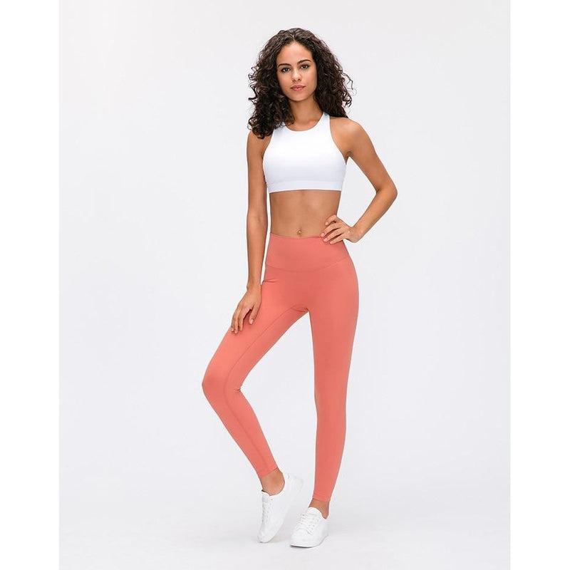 B|Fit LUXE Max Support Legging - Bright Salmon - B|Fit Amazighld