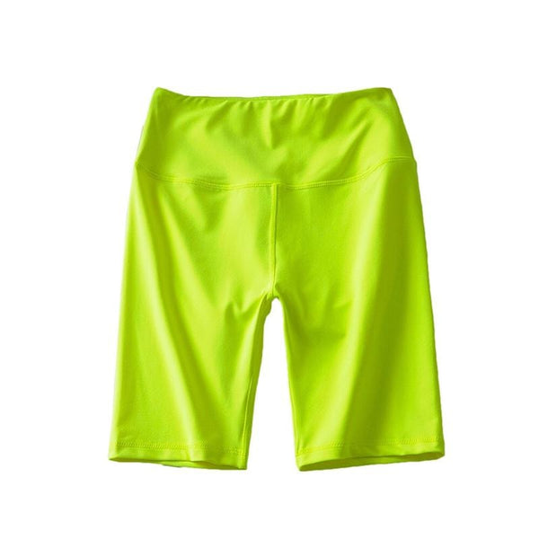 B|Fit LUXE Neon Full Length Short - Neon Yellow - B|Fit Amazighld