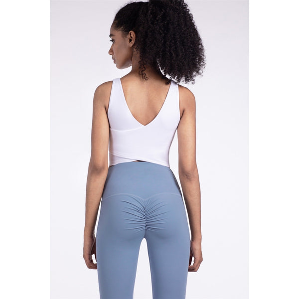 B|Fit LUXE Scrunch 2.0 Legging - Baby Blue - B|Fit Amazighld