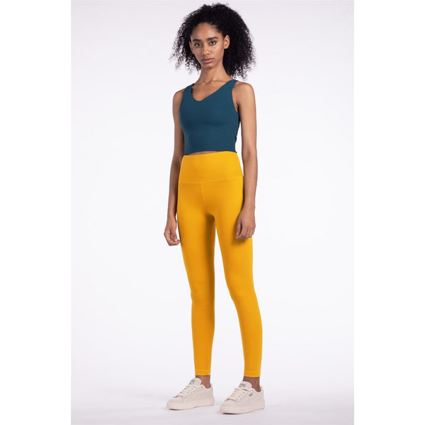 B|Fit LUXE Scrunch 2.0 Legging - Yellow - B|Fit Amazighld