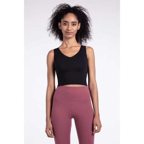 B|Fit LUXE Sports Crop - Black - B|Fit Amazighld