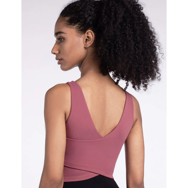 B|Fit LUXE Sports Crop- Rose - B|Fit Amazighld