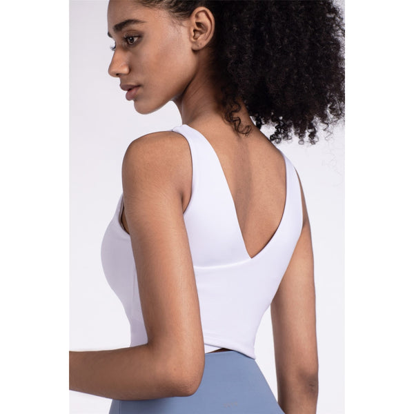 B|Fit LUXE Sports Crop - White - B|Fit Amazighld