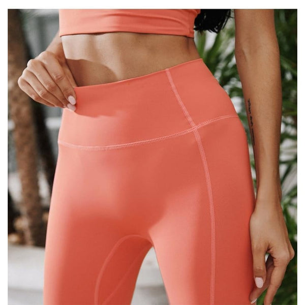 B|Fit LUXE SURGE Legging - Coral - B|Fit Amazighld