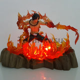 Figurine Ace Led Fire - 17cm