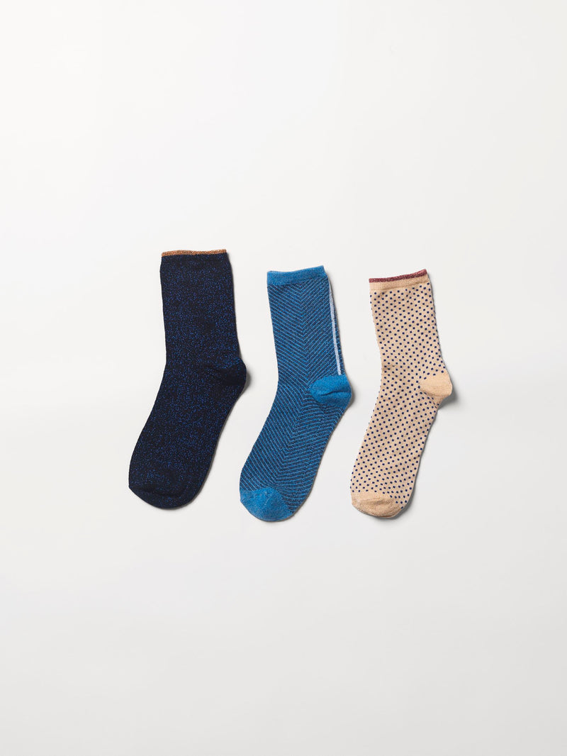 Becksöndergaard, Sock Giftbox 3 pack nr. 7 - Mix Colour, gifts, gifts