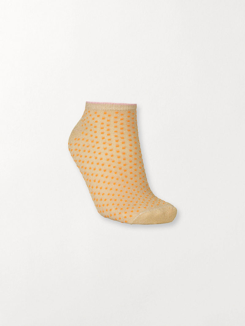 Becksöndergaard, Dollie Dot - Orange, socks, classics, 4for3, 4 for 3 socks