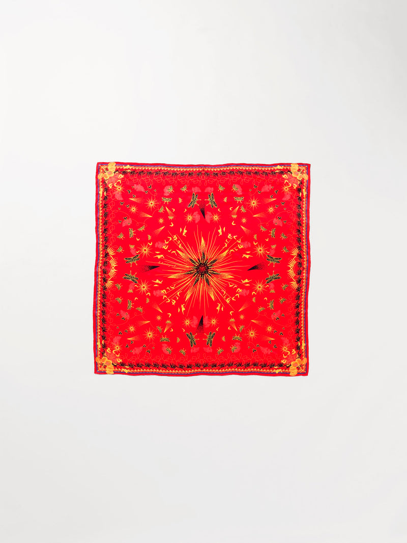 Becksöndergaard, Heron Sia Scarf - Red, outlet flash sale, outlet flash sale, sale, sale