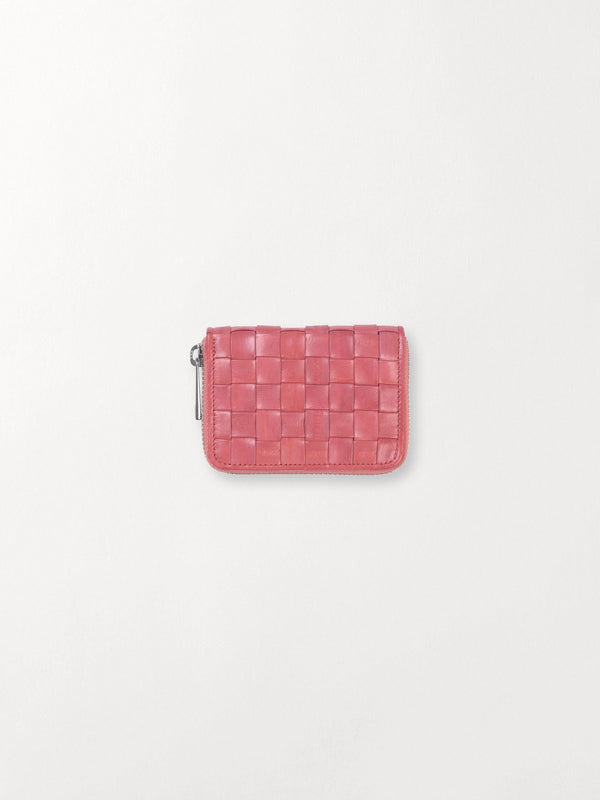 Becksöndergaard, Braidy Purse  - Peach Pink, wallets, accessories, wallets, accessories