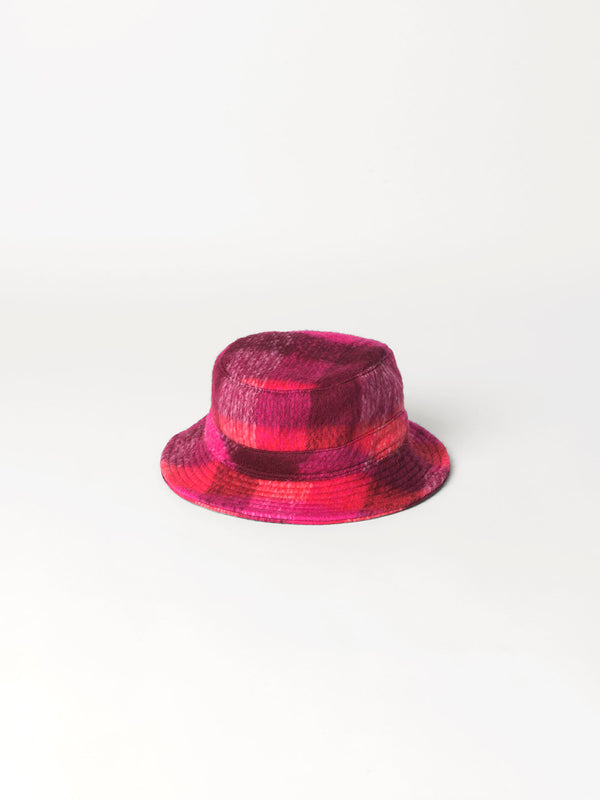 Becksöndergaard, Check Woods Bucket Hat - Pink, accessories, accessories