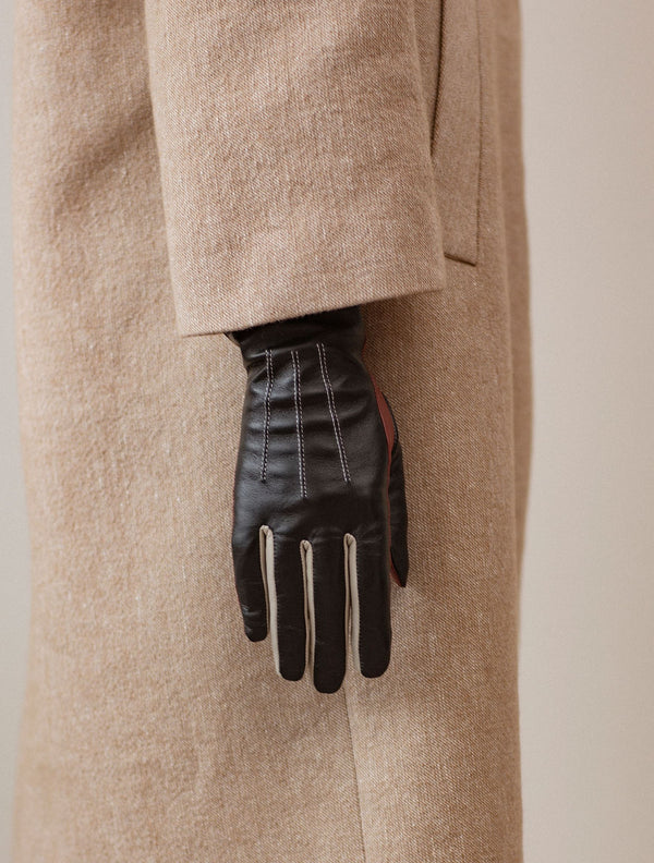 Becksöndergaard, Anahita Glove - Black, accessories, gloves, accessories, gloves, accessories