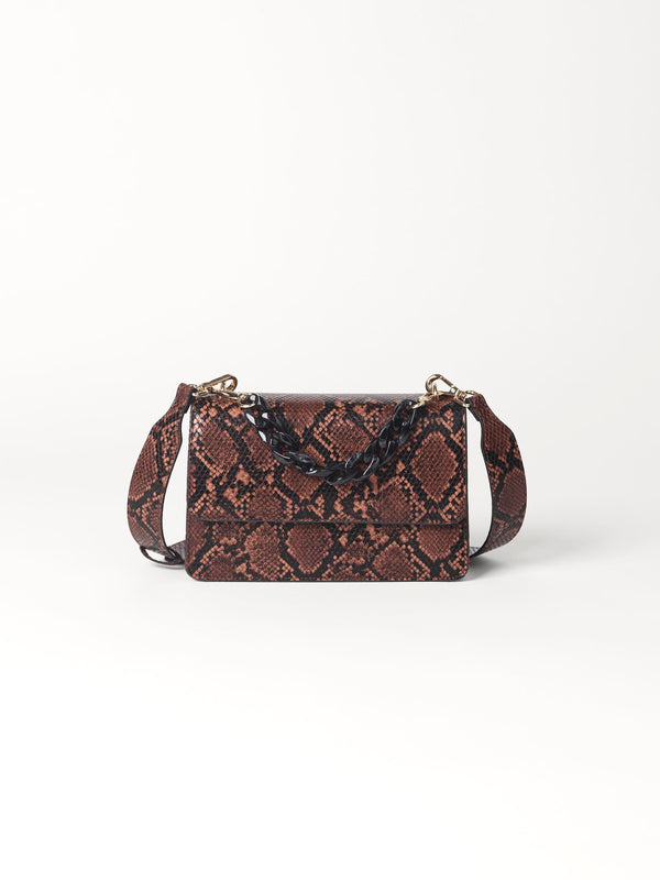 Becksöndergaard, Snake Maya Bag  - Brownish, bags, bags, gifts, gifts, gifts for special occasions, gifts for special occasions