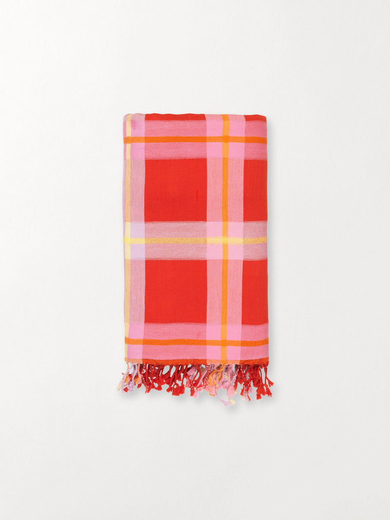 Becksöndergaard, Eva Towel - Red Love, outlet flash sale, outlet flash sale