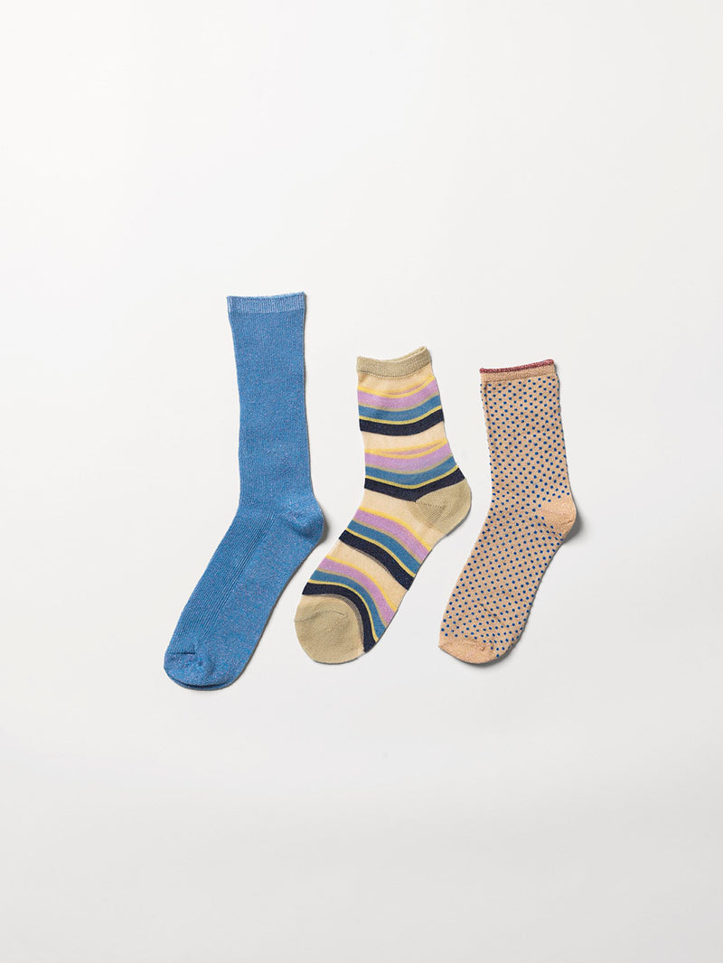 Becksöndergaard, Sock Giftbox 3 pack nr. 1 - Mix Colour, gifts, gifts