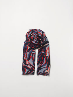 Becksöndergaard, Zetie Siw Scarf - Blue, outlet flash sale, outlet flash sale, sale, sale