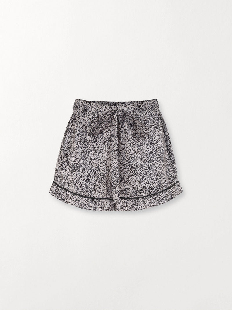 Becksöndergaard, Animal Tolie Shorts - Beige, clothing, clothing, outlet, outlet