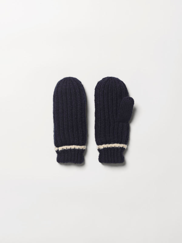 Becksöndergaard, Solid Emmy Mittens - Night Sky, accessories, gloves, accessories, gloves, accessories